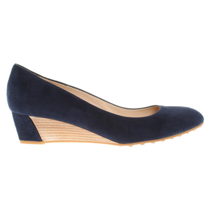 Tod's Suede pumps in Blue