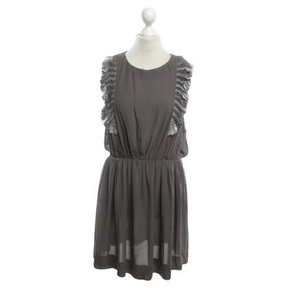 Whistles Silk dress in gray