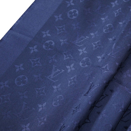 Louis Vuitton Scialle Monogram Blue Notte
