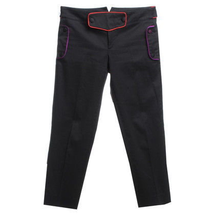 Gucci trousers with colored accents