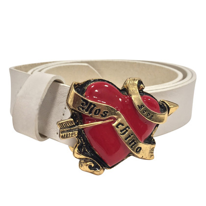 Moschino Love riem Heart Print