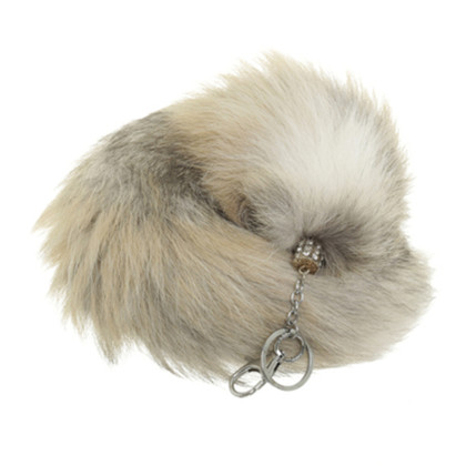 Other Designer foxtail Keychain with Rhinestone