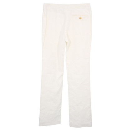 Burberry trousers in white