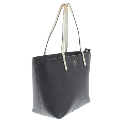 Kate Spade Shopper in Schwarz/Gold