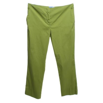 Prada pantaloni di estate in verde