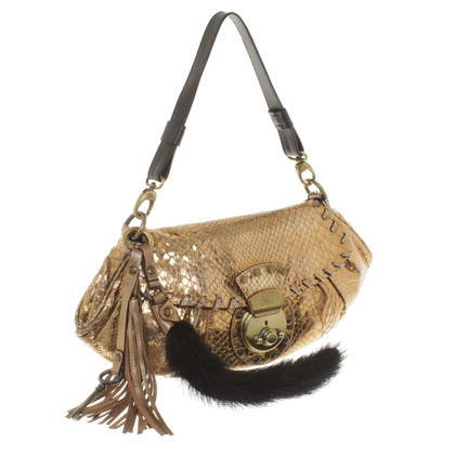 Barbara Bui Shoulder Bag Python Leather