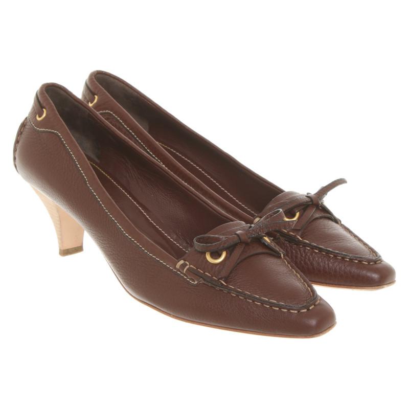 Car Shoe Stiefel aus Wildleder in Braun Second Hand Car