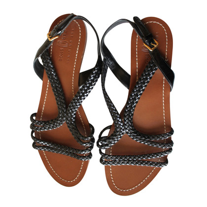Car Shoe Sandals in braided leather