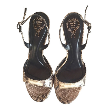 Other Designer Rodo - Sandals Python Leather