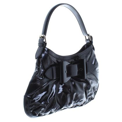 Gucci Zwarte handtas in zwarte afwerking