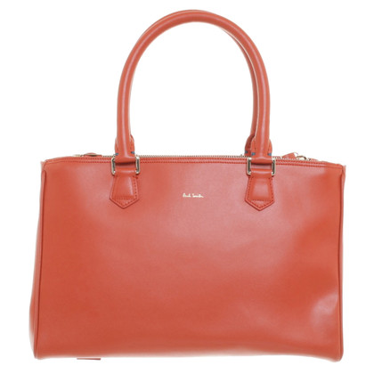 Paul Smith Borsa a mano in arancione