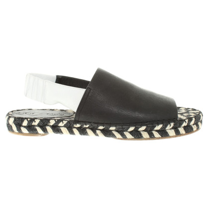 Proenza Schouler Sandals in Black / White