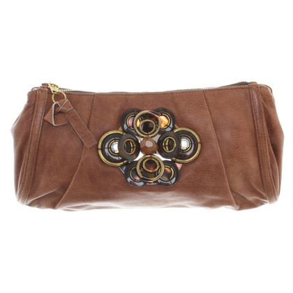 Chloé clutch in Brown