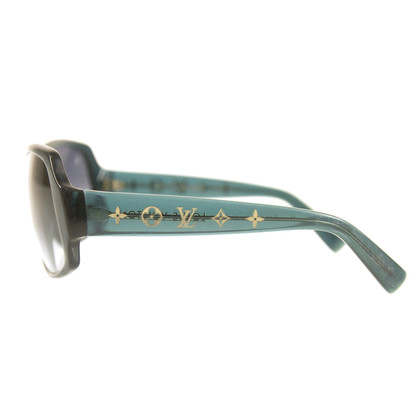 Louis Vuitton blue sunglasses