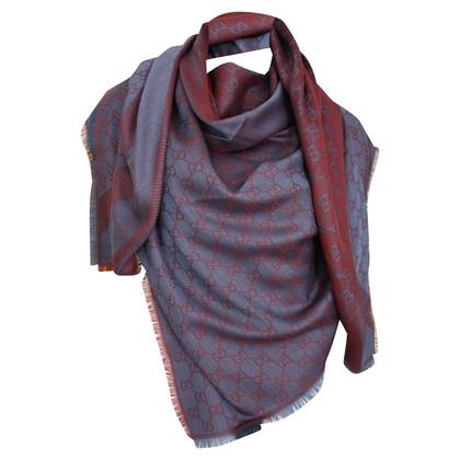 Gucci Guccissima doek gemaakt van wol / zijde