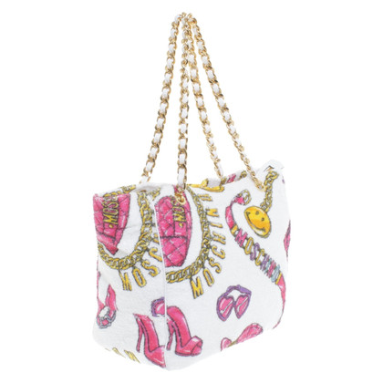 Moschino Shopper with pattern print