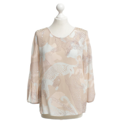 Marc Cain Blouse Animal Art