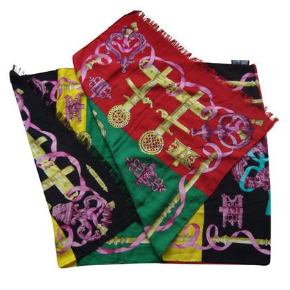 Hermès Schal mit Muster