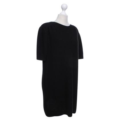 Miu Miu Gebreide jurk zwart
