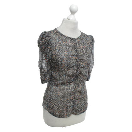 Isabel Marant for H&M Silk blouse with pattern