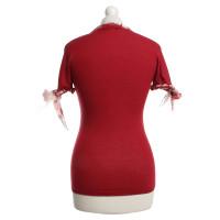 Roberto Cavalli T-shirt in red
