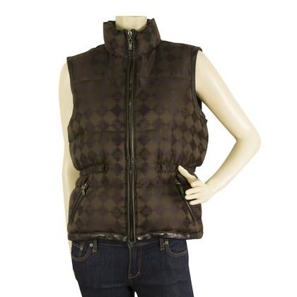 MCM Brown down vest