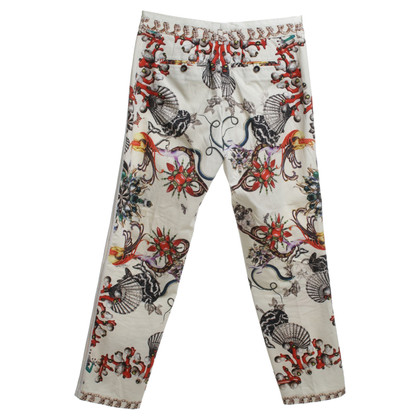 Roberto Cavalli trousers with motifs