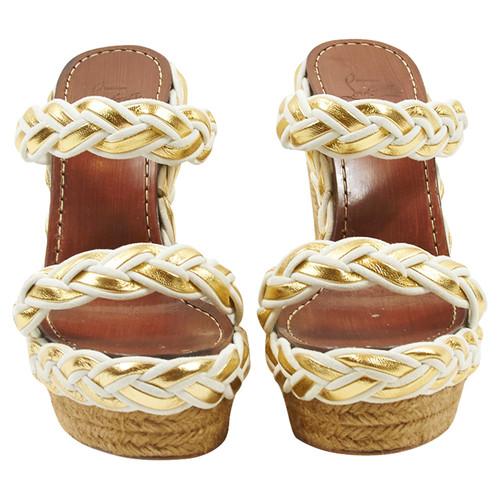 best cheap 64791 eb51a Christian Louboutin Wedge sandals - Second Hand Christian ...