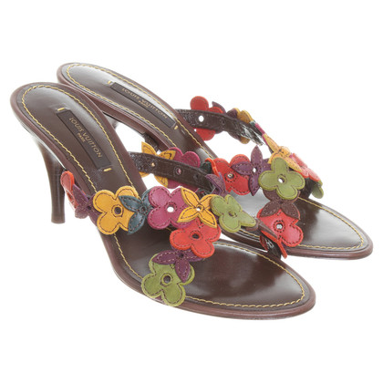 Louis Vuitton Sandals with flowers