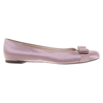 Salvatore Ferragamo Ballerinas in purple