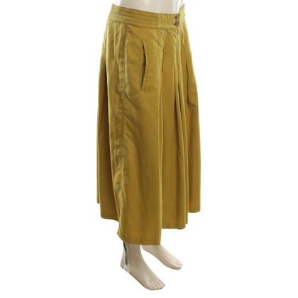 Aigner Pants skirt in ocher