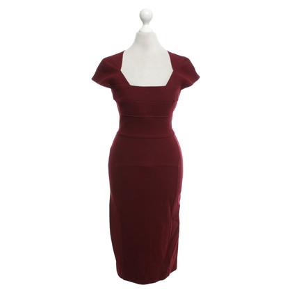Roland Mouret Burgundy dress