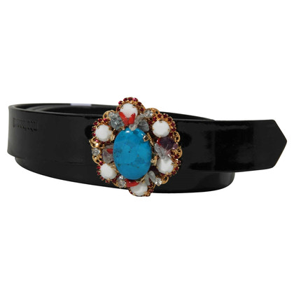 Roberto Cavalli Patent Leather Belt