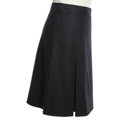 Loro Piana skirt in dark blue