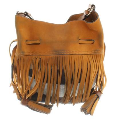 Burberry Shoulder bag with fringes