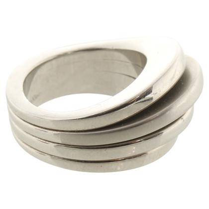Calvin Klein anneau de couleur argent