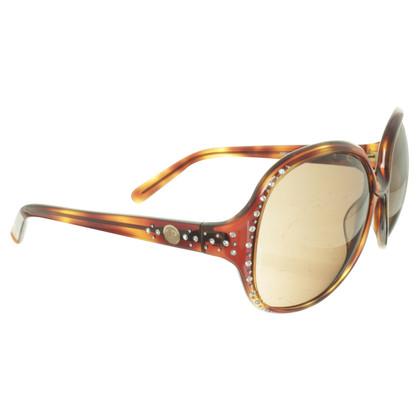 La Perla Sonnenbrille mit Schmucksteinen