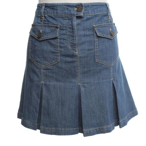 190ce56a10cded Karen MillenJean rok in blauw- Second-handKaren MillenJean rok in ...