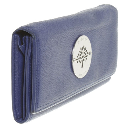 Mulberry Wallet in blue