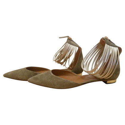 Aquazzura Sandals suede