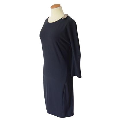Humanoid Kleid in Dunkelblau