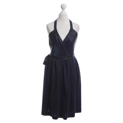 """Diane von Furstenberg """"Natanya"""" jurk in donkerblauw"""