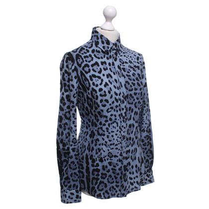 Dolce & Gabbana Leopard-style blouse