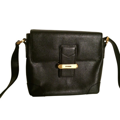 Ferre Small black evening bag