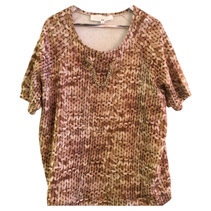 Elisabetta Franchi Shirt with knit print