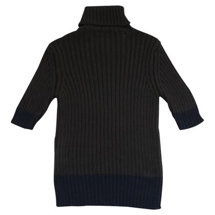 Max Mara maglione a maniche corte in marrone