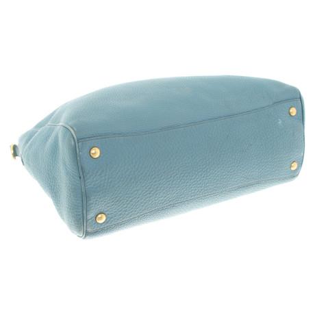 Prada Handtasche in Hellblau Blau Spielraum Ebay Günstige Manchester-Großer Verkauf uV1MEpU