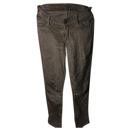 Goldsign Pantaloni di velluto grigi