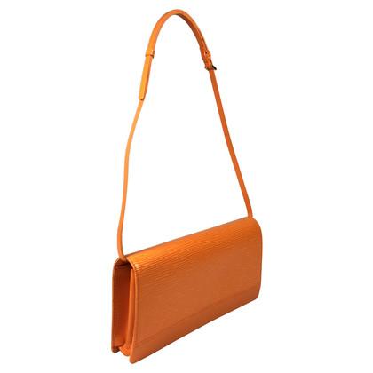 """Louis Vuitton """"Honfleur Epi"""" in Orange"""