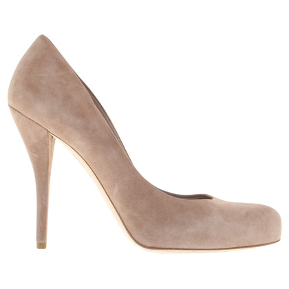 Christian Dior Nudefarbene pumps